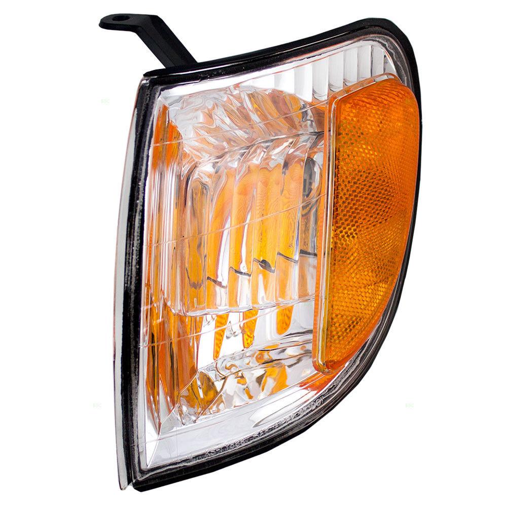 コーナーライト New Drivers Park Signal Corner Marker Lamp Lens Assembly for 00-04 Toyota Tundra 新しいドライバーパーク信号コーナーマーカーランプレンズアセンブリ00-04トヨタトンドラ