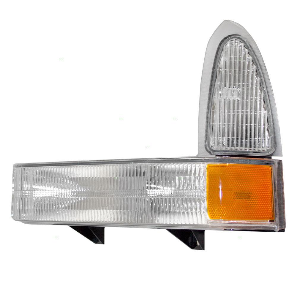 コーナーライト New Drivers Signal Front Marker Light DOT Ford Excursion Super Duty Pickup Truck 新しいドライバシグナルフロントマーカーライトDOTフォードエクスカーションスーパーデューティピックアップトラック