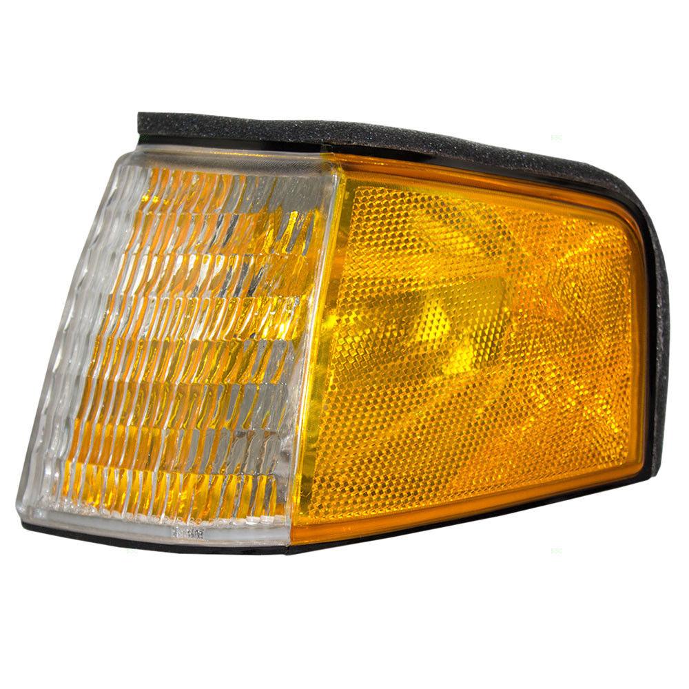 コーナーライト New Drivers Park Signal Lamp Assembly DOT 88-94 Ford Tempo Mercury Topaz 新しいドライバパーク信号ランプアセンブリDOT 88-94フォードテンポマーキュリートパーズ