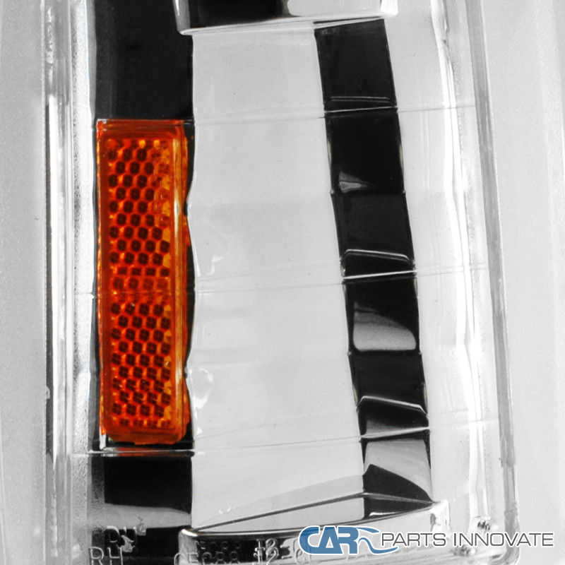 Chrome Corner Light LH Left for 89-91 Toyota PU 90-91 4Runner