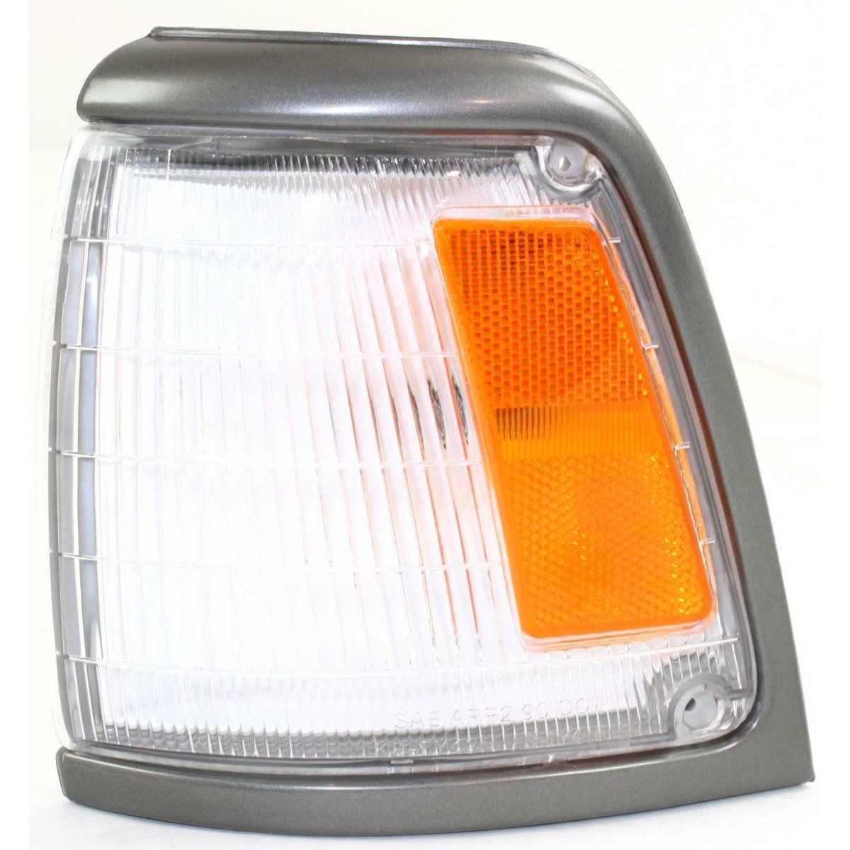 コーナーライト Corner Light For 92-95 Toyota Pickup w/ gray trim Driver Incandescent w/ Bulb コーナーライト92-95用トヨタピックアップ/グレートリムドライバー白熱電球付き