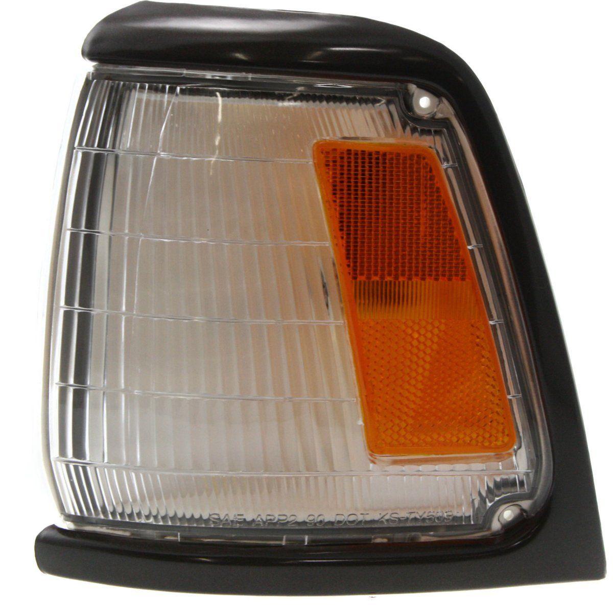 コーナーライト Corner Light For 89-91 Toyota Pickup w/ gray trim Driver Incandescent w/ Bulb コーナーライト89-91トヨタピックアップ/グレートリムドライバー白熱電球
