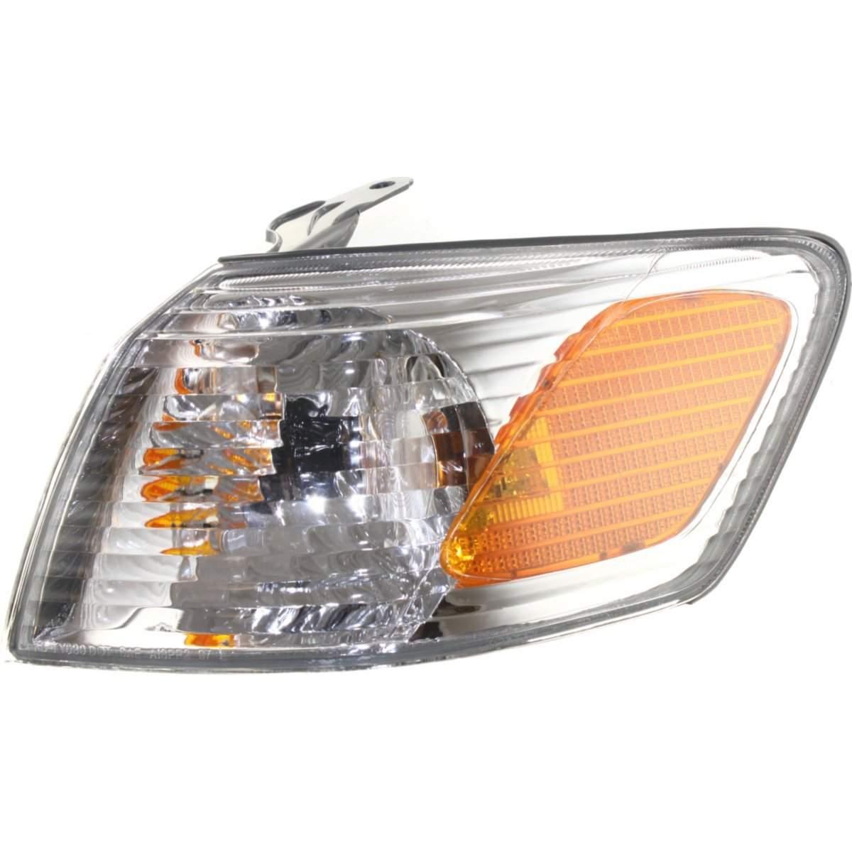 コーナーライト Corner Light For 2000-2001 Toyota Camry Driver Side Incandescent w/ Bulb コーナーライト2000-2001用トヨタカムリドライバサイド白熱電球