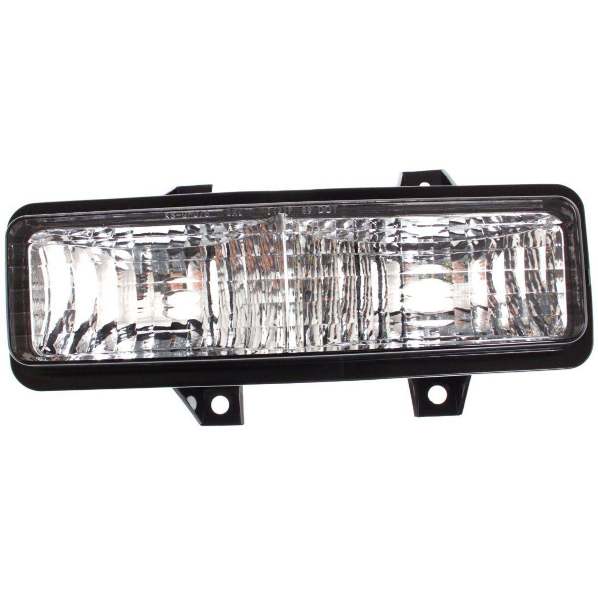 コーナーライト Parking Light For 1992-1995 Chevrolet G20 Lens/Housing w/ Dual Headlight Left 1992-1995シボレーG20レンズ/ハウジング、デュアルヘッドライト左用の駐車ライト