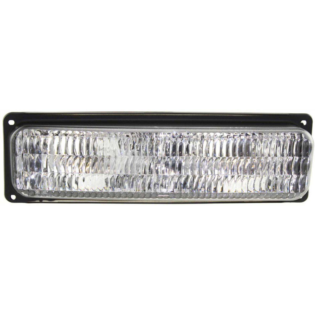 コーナーライト Parking Light For 1996-02 Chevy Express 3500 Lens/Housing w/Comp Headlight Right パーキングライト1996-02シボレーエクスプレス3500レンズ/ハウジング付きコンプカメラヘッドライト