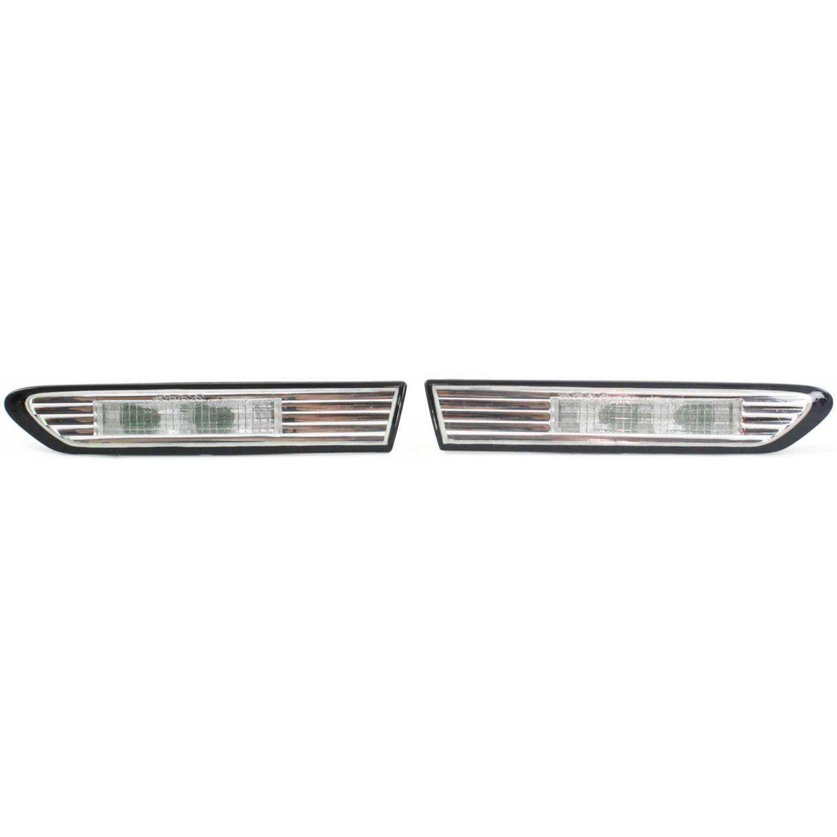 コーナーライト StyleLine New Set of 2 Side Markers Corner Lamp Parking Light Cornerlight Pair StyleLine 2サイドマーカーの新しいセットコーナーランプパーキングライトコーナーライトペア