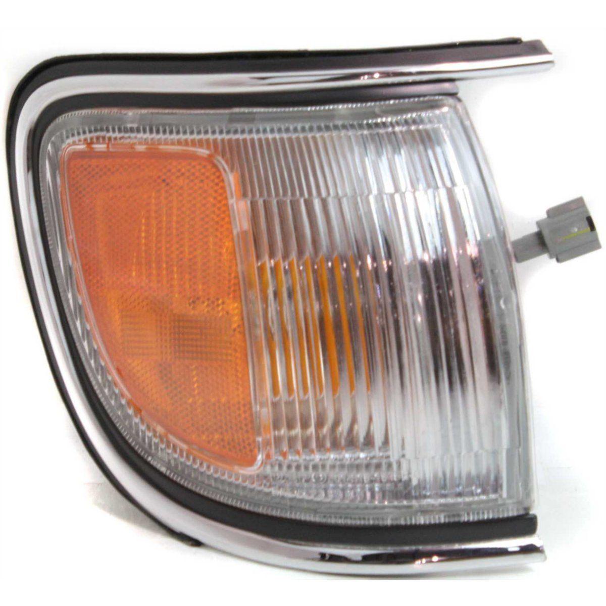 USコーナーライト Corner Light For 96-98 Nissan Pathfinder w/ chrome trim RH Incandescent w/ Bulb コーナーライト96-98日産パスファインダークロムトリム付きRH白熱電球付き