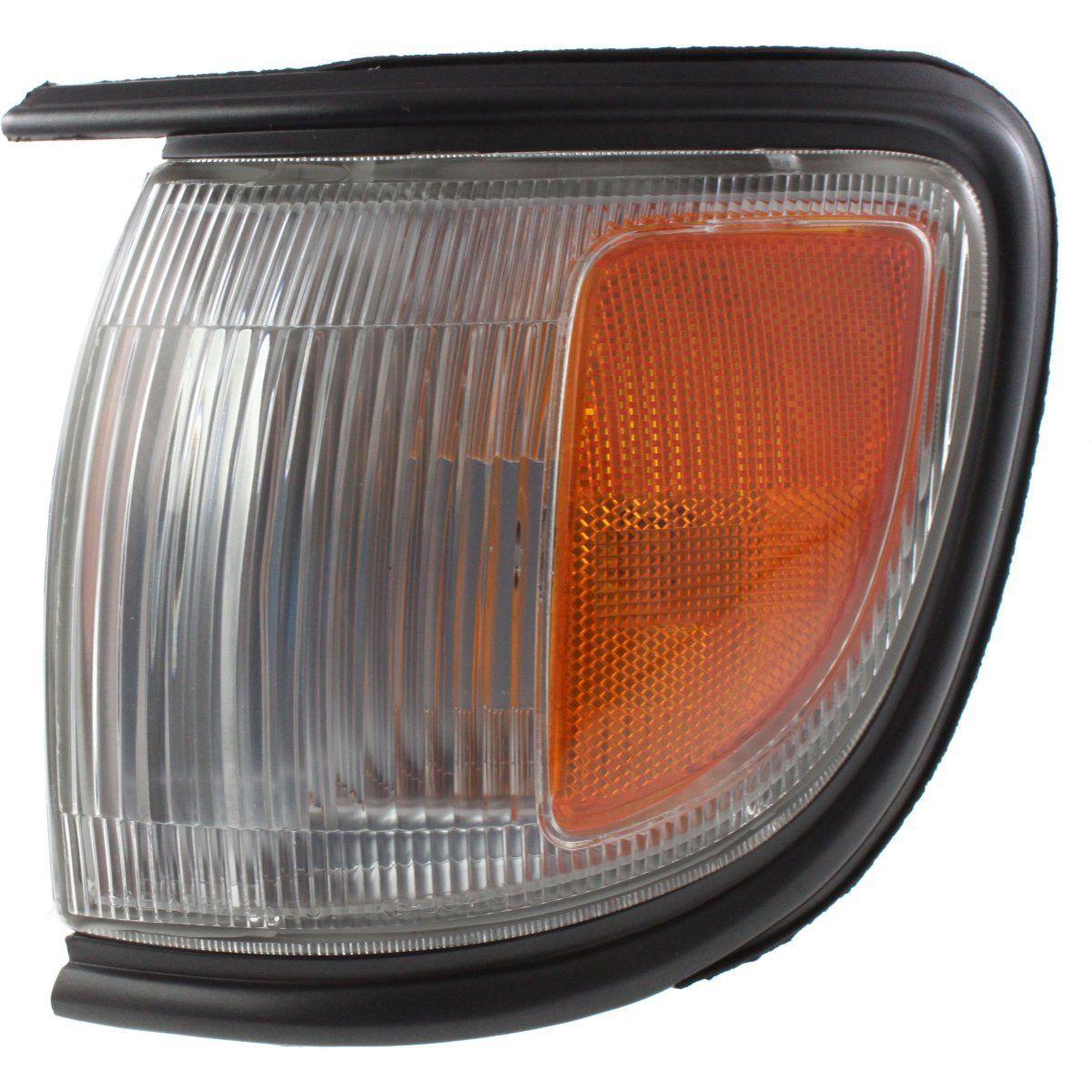 USコーナーライト Corner Light For 96-99 Nissan Pathfinder w/ black trim Left Incandescent w/ Bulb コーナーライトfor 96-99 Nissan Pathfinder w / blackトリム左白熱電球付き