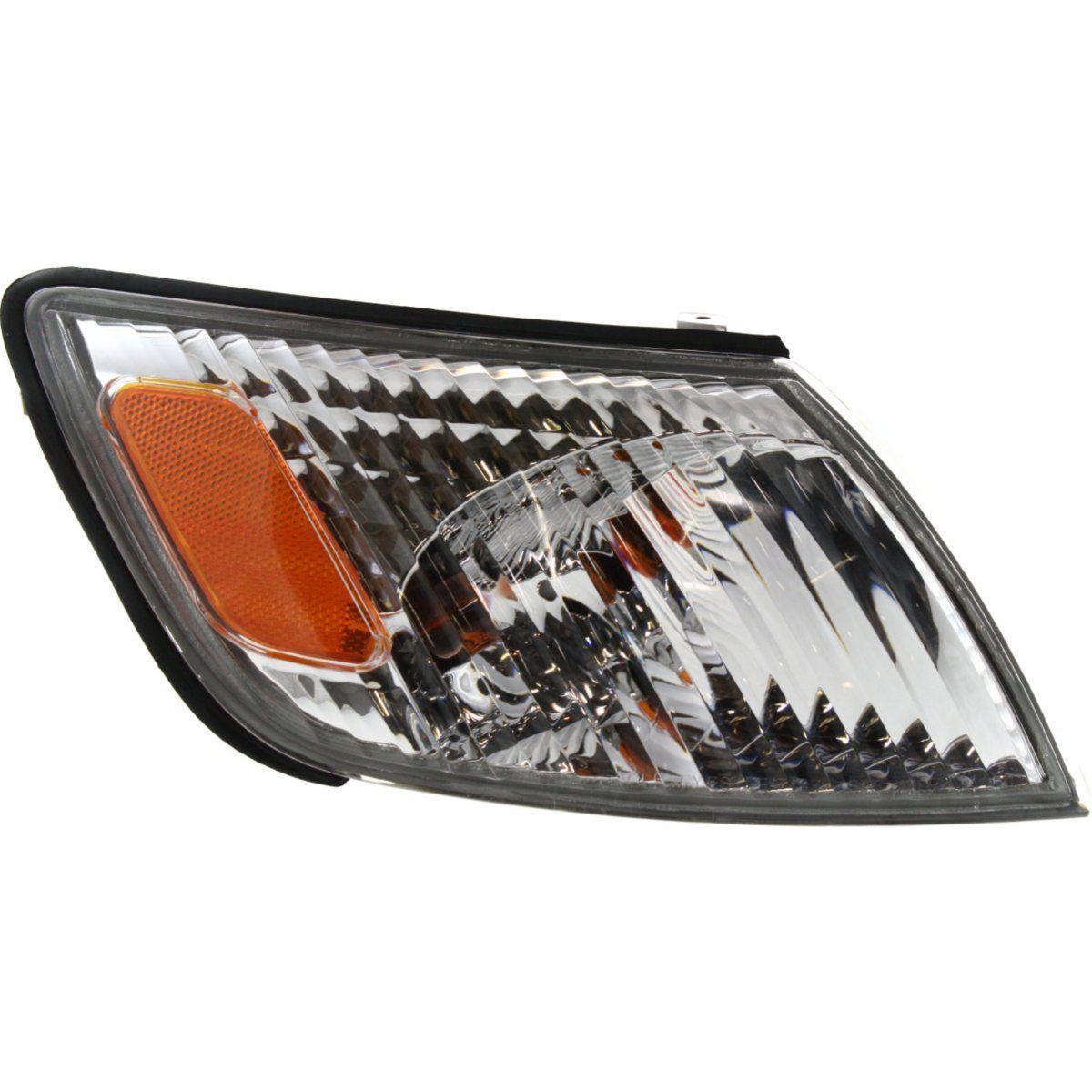 USコーナーライト Corner Light For 2000-2001 Lexus ES300 Passenger Side Incandescent w/ Bulb コーナーライト2000-2001用レクサスES300乗用車用白熱電球
