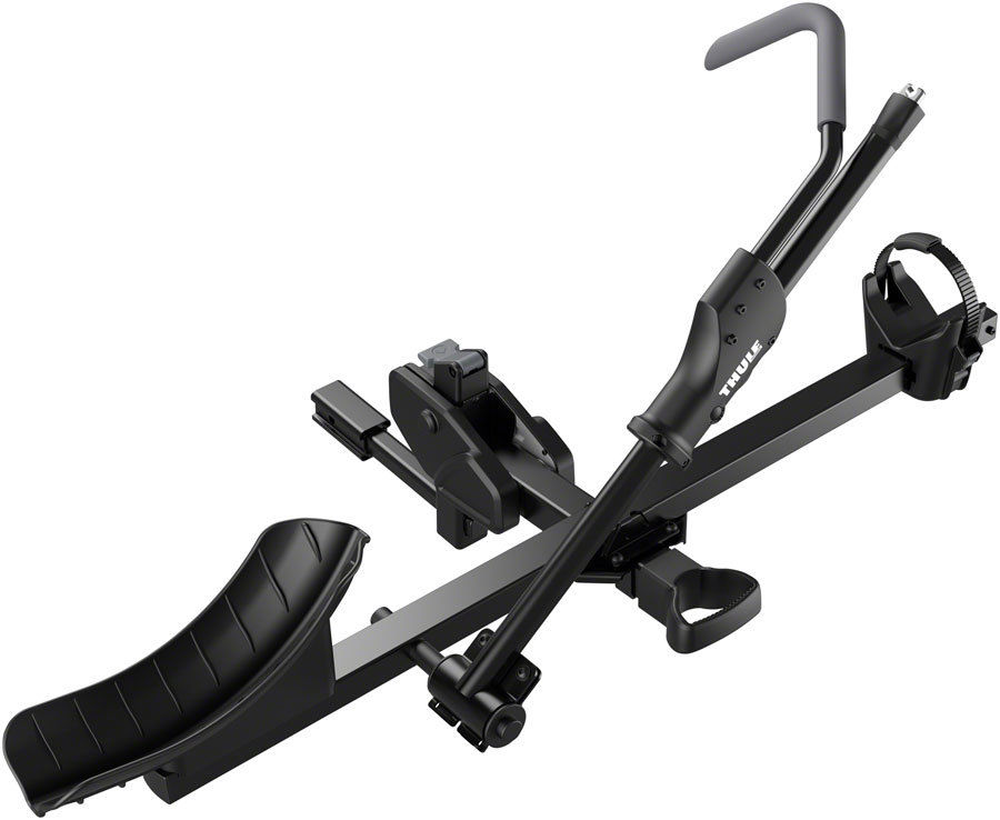 USサイクルキャリア Thule 9041 T1 1.25 or 2 Hitch Rack: 1-Bike Black and Silver Thule 9041 T1 1.25または2ヒッチラック:1-Bike Black and Silver