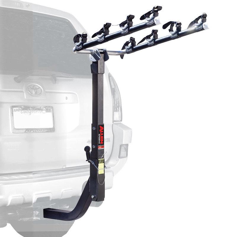 USサイクルキャリア Allen Car Rack S645 Hitch 2In Ext 4B Allen Car Rack S645ヒッチ2インExt 4B