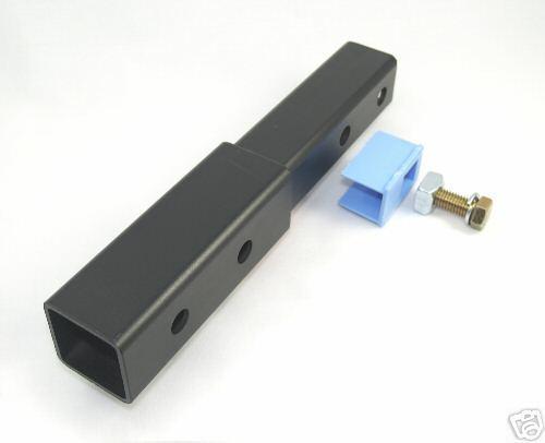 USサイクルキャリア New Advantage Hitch Extension + FREE Threaded Hitch Lock- 2
