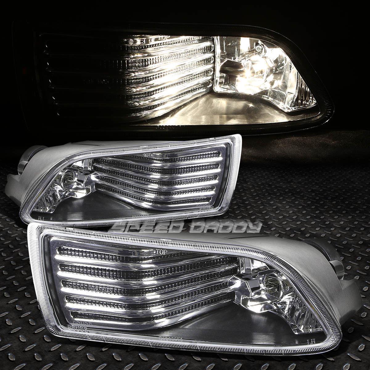 フォグライト FOR 04-10 SCION TC JDM CLEAR LENS BLACK DRIVING FOG LIGHT/OE RH+LH LAMP+SWITCH 04-10 SCION TC JDMクリアレンズブラックドライブフォグライト/ OE RH + LHランプ+スイッチ