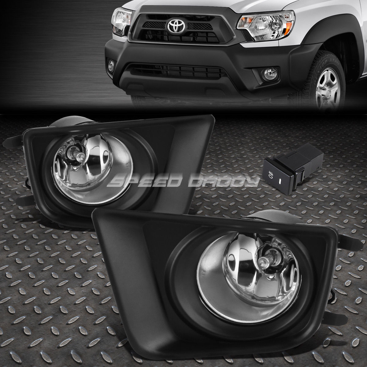 USフォグライト FOR TACOMA 12-15 TOYOTA TACOMA FOG + CHROME LENS OE BUMPER FOG LIGHT LAMP PAIR+SWITCH KIT 12-15 TOYOTA TACOMA CHROMEレンズOE BUMPER FOG LIGHT LAMP PAIR + SWITCH KIT, カラスチョウ:01d35ced --- diadrasis.net