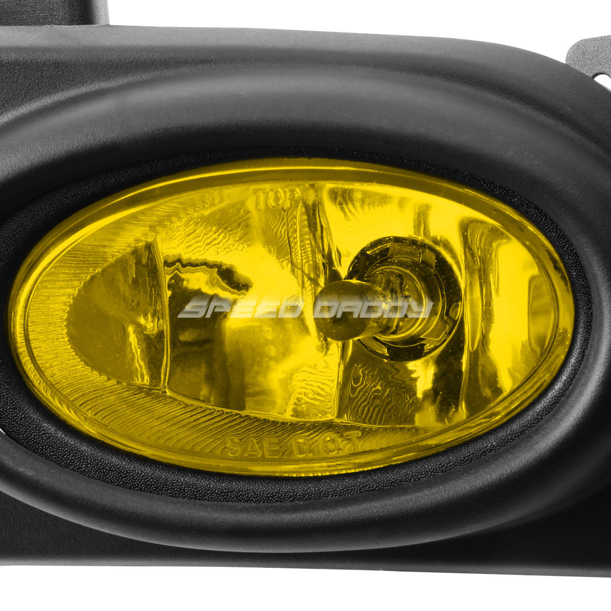 BUMPER DRIVING FOG LIGHTS LAMP YELLOW CLEAR LENS W//SWITCH FOR 16-17 TITAN PICKUP