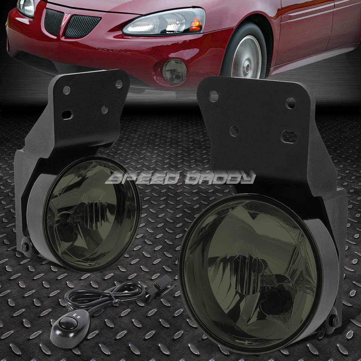 車用品・バイク用品 >> 車用品 >> パーツ >> ライト・ランプ >> その他 フォグライト FOR 99-05 PONTIAC GRAND AM SMOKED LENS OE BUMPER DRIVING FOG LIGHTS LAMP+SWITCH 99-05ポンタッチグラン・アム・ソーケード・レンズOEバッファ・ドライビング・フォグ・ライト・ランプ+スイッチ