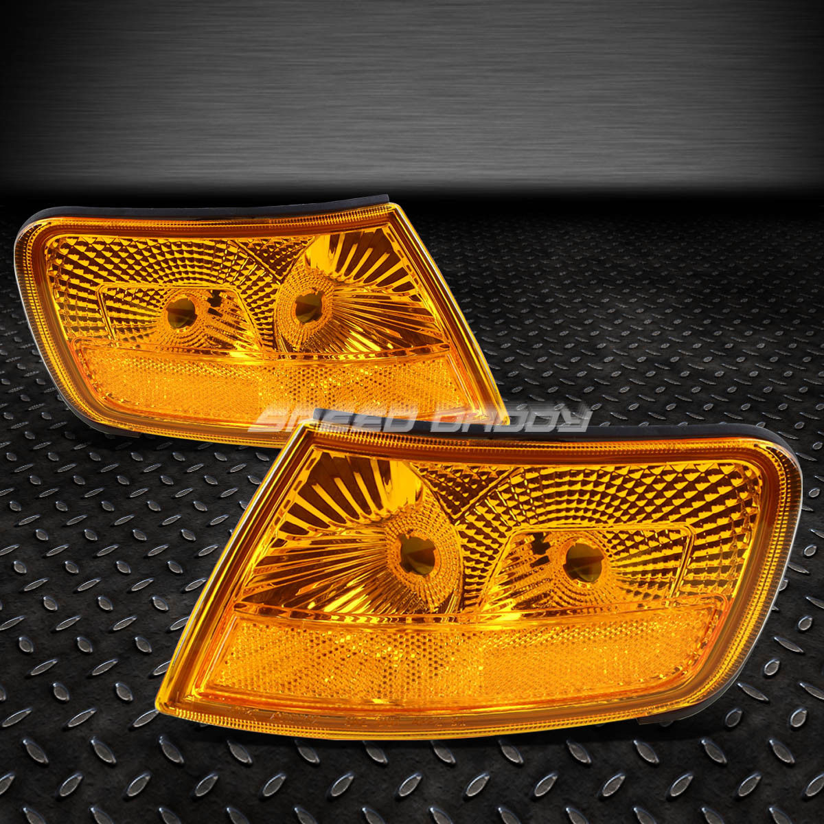 フォグライト FOR 94-97 ACCORD 2DR/4DR CD JDM STYLE AMBER LENS OE BUMPER FOG LIGHT HOUSING SET FOR 94-97 ACCORD 2DR / 4DR CD JDMスタイルアンバースレンズOE BUMPERフォグライトハウスセット