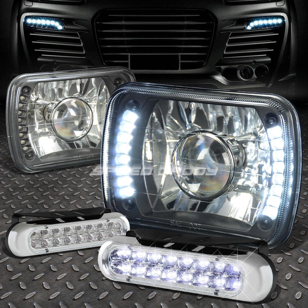 USフォグライト USフォグライト SQUARE BLACK PROJECTOR H6014/H6054 LED HEADLIGHT+16 GRILL LED GRILL FOG LIGHT FOR H6014/H6054 スクエアブラックプロジェクターLEDヘッドライト+ H6014/ H6054用16 LEDグリルフォグライト, 照本食肉加工所:da1010a0 --- diadrasis.net