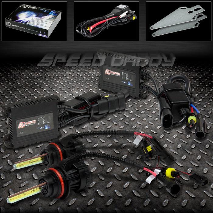 フォグライト 2X XENON HID 3000K-12000K HIGH/LOW BEAM+SLIM BALLAST CONVERSION FOG/HEAD LIGHT 2X XENON HID 3000K-12000Kハイ/ロービーム+スリムバラストコンバージョンフォグ/ヘッドライト