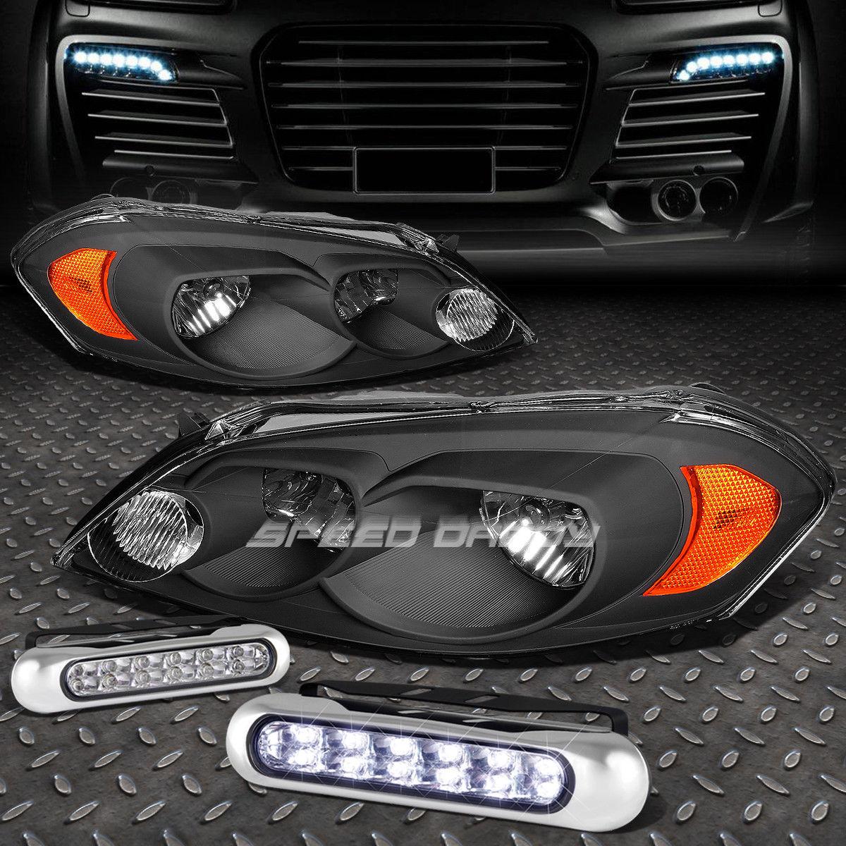 車用品・バイク用品 >> 車用品 >> パーツ >> ライト・ランプ >> その他 フォグライト BLACK HOUSING AMBER CORNER HEADLIGHT+12 LED GRILL FOG LIGHT FOR 06-16 IMPALA ブラックハウジングのアンバーコーナーヘッドライト+ 06-16インパラのための12個のLEDグリルフォグライト