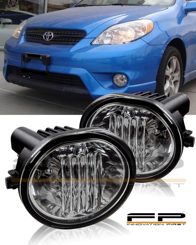 フォグライト For 2003-2008 Toyota Matrix Fog Lights Full Complete Kit Switch And Harness Pair 2003-2008トヨタマトリックスフォグライトフルキットキットとハーネスペア