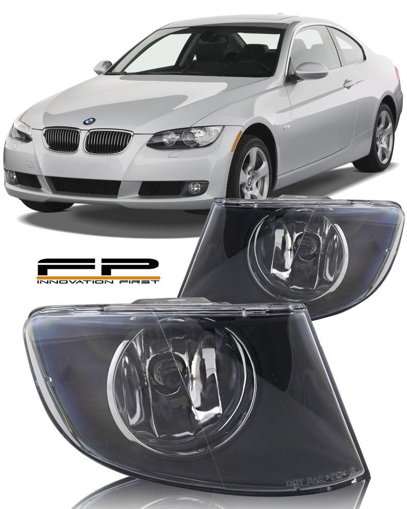 フォグライト 2007-2011 BMW 3 Series 328i 335i Coupe Replacement Fog Lights Housing Clear Pair 2007-2011 BMW 3シリーズ328i 335iクーペ交換用フォグライトハウジングクリアペア