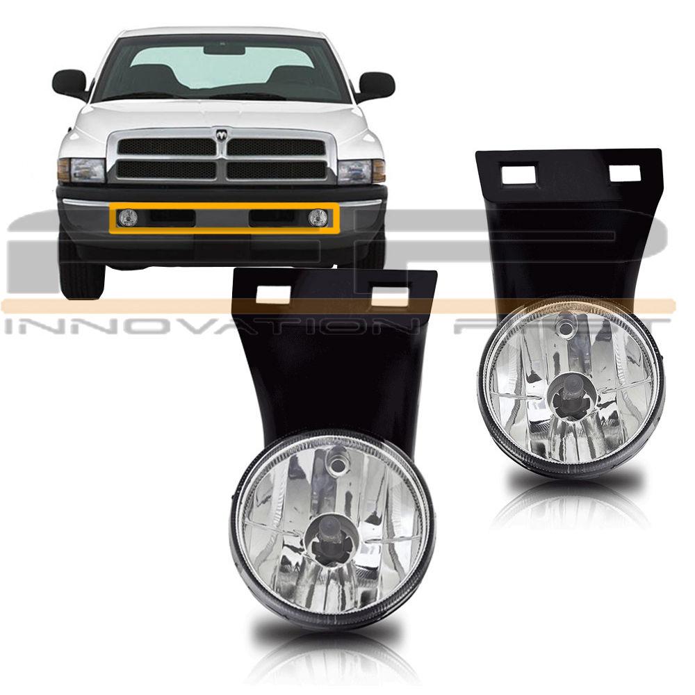 フォグライト 1994-2001 Dodge RAM 1500 2500 3500 Pick Up Fog Lights Clear W/O Sport Package 1994-2001 Dodge RAM 1500 2500 3500フォグライトクリアW / Oスポーツパッケージ