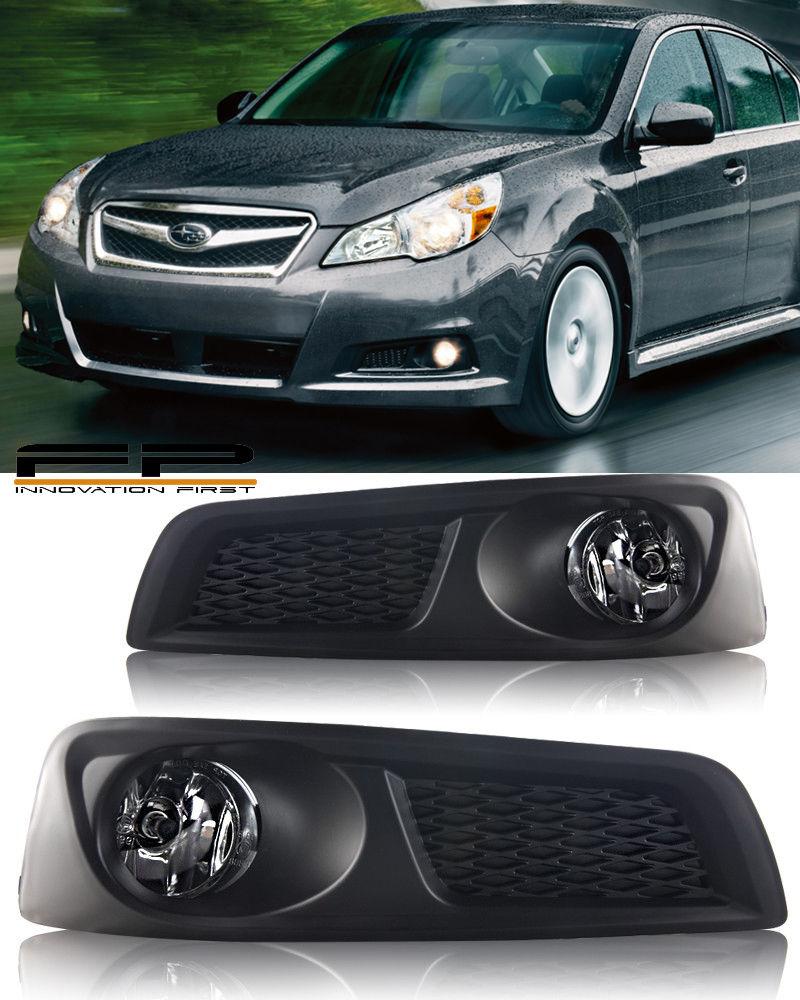 フォグライト For 2010 2011 2012 Subaru Legacy BM9 Fog Lights Clear Lens Complete Kit + Wiring 2010年2011年2012スバルレガシィBM9フォグライトクリアレンズキット+配線