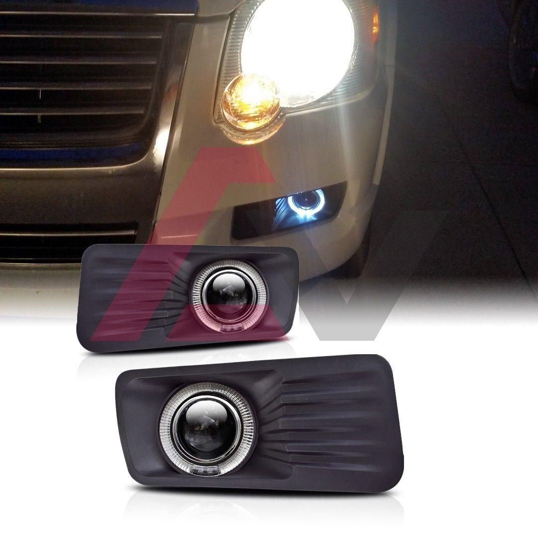 USフォグライト For 2005-2009 Ford DOTクリアレンズ Explorer Fog Lights Halo Ring - 2005 Projector SAE DOT Clear Lens 2005 - 2009年フォードエクスプローラーフォグライトハローリングプロジェクターSAE DOTクリアレンズ, ハイベル オンラインショップ:a12d4611 --- diadrasis.net