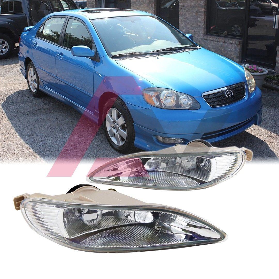 フォグライト For 2002-2004 Toyota Camry 2005-2008 Corolla 2002-2003 Solara Fog Light Kit 2002-2004トヨタカムリ2005-2008カローラ2002-2003ソララフォグライトキット