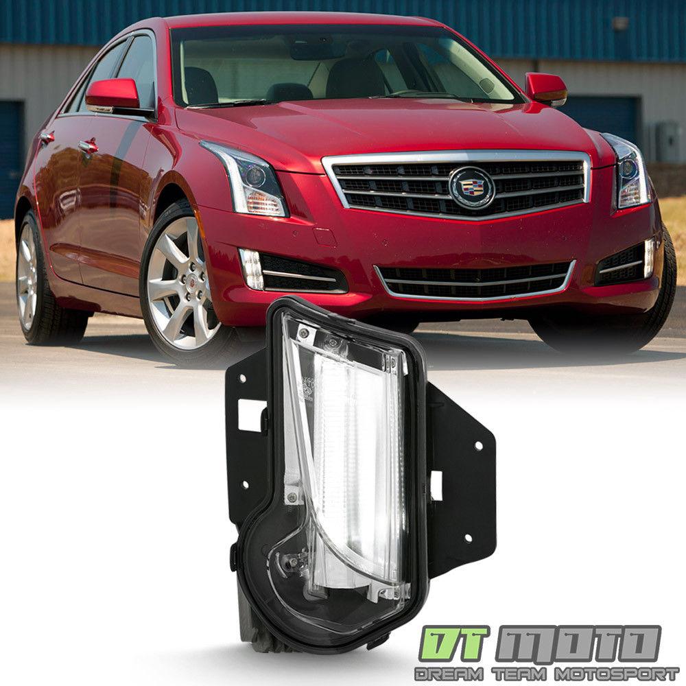 フォグライト 2013-2017 Cadillac XTS Bumper Fog light LED Daytime Running Lamp Passenger Side 2013-2017キャデラックXTSバンパーフォグライトLEDデイタイムランニングランプ乗客側