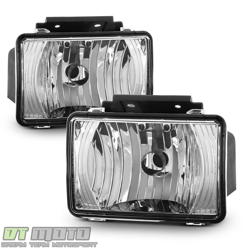 フォグライト 2004-2012 Chevy Colorado GMC Canyon Driving Fog Lights Bumper Lamps Left+Right 2004年?2012年シボレー・コロラド州GMCキャニオン・ドライビング・フォグ・ライトバンパー・ランプ左+右