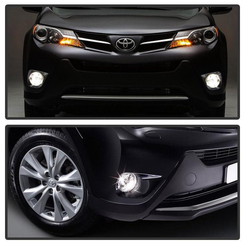フォグライト For 2013-2015 Toyota RAV4 RAV-4 Bumper Fog Lights Lamps+Switch Left+Right 13-15 トヨタRAV4 RAV-4バンパーフォグライティングランプ+スイッチLeft + Right 13-15