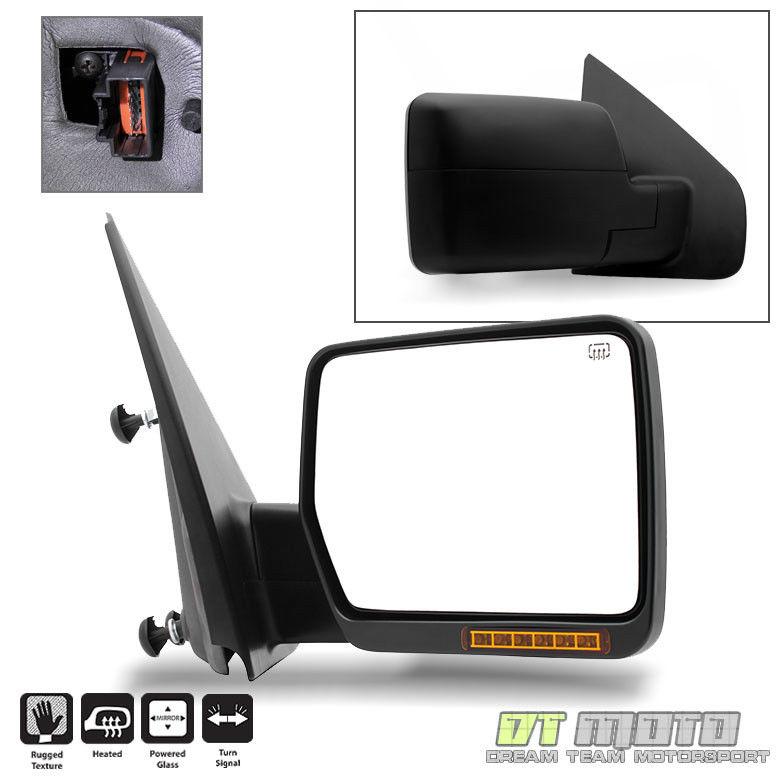 ミラー 2004-2006 04-06 Ford F150 Power Heated Mirror w/LED Signal Passenger Side RIGHT 2004-2006 04-06 Ford F150パワーヒーテッドミラー(LEDシグナル乗客サイド右)