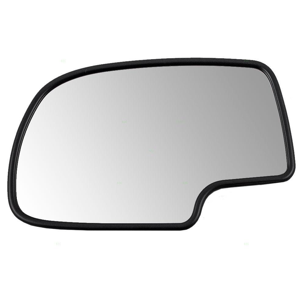ミラー Chevy GMC Cadillac Pickup Truck Drivers Side Power Mirror Glass & Base Heated シボレーGMCキャデラックピックアップトラックドライバサイドパワーミラーガラス& ベース加熱