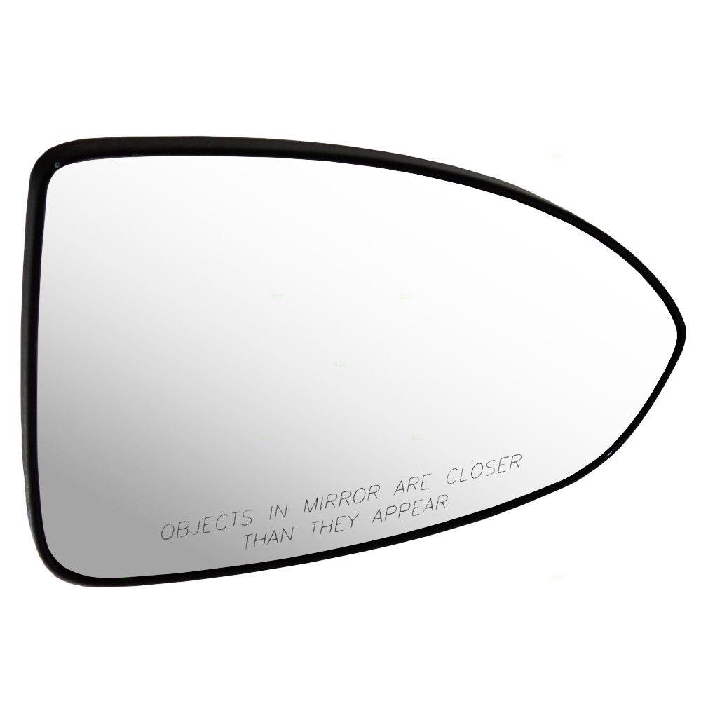 ミラー 11-15 Chevy Cruze & 16 Limited Passengers Side View Mirror Glass & Base 95215095 11-15 Chevy Cruze& amp; 16人の限定された乗客の側面ミラーガラス& ベース95215095