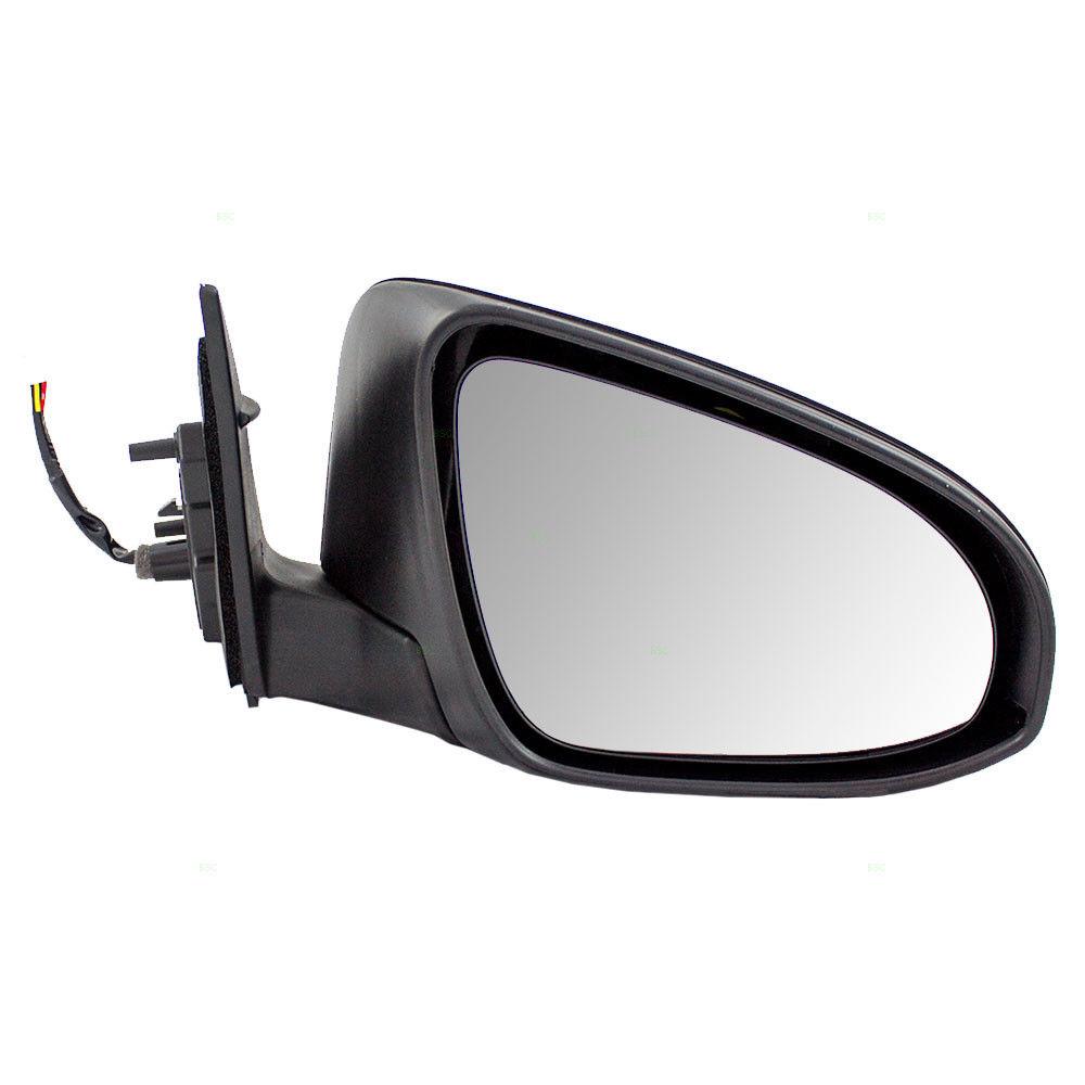 ミラー Fits Toyota Camry 12-14 Passengers Side Power Mirror Heated Glass w/ Housing トヨタカムリ12-14乗客側のパワーミラーヒーター付きガラス/ハウジングに適合