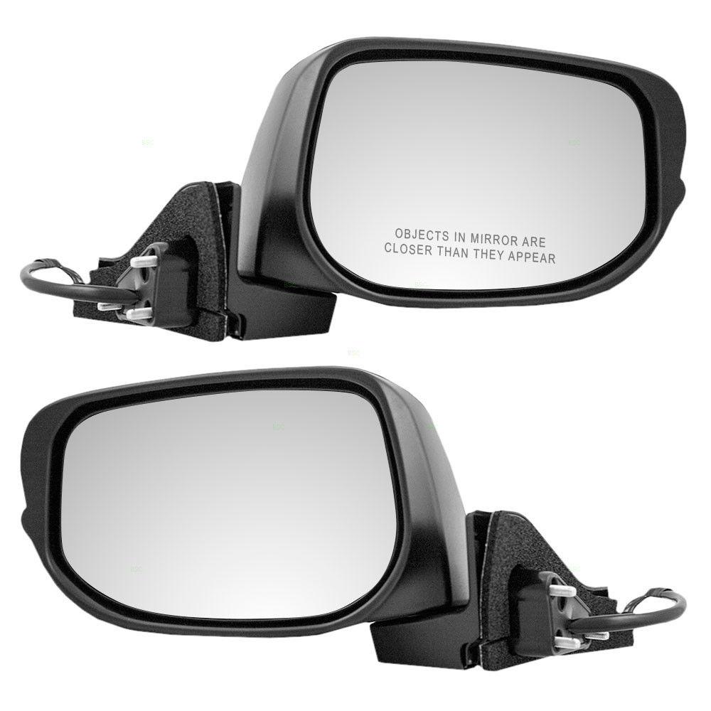 ミラー Fits Honda Insight 10 11 12 13 14 Set of Side View Power Mirrors Heated Signal Honda Insightに適合10 11 12 13 14サイドビューパワーミラーセットヒート信号