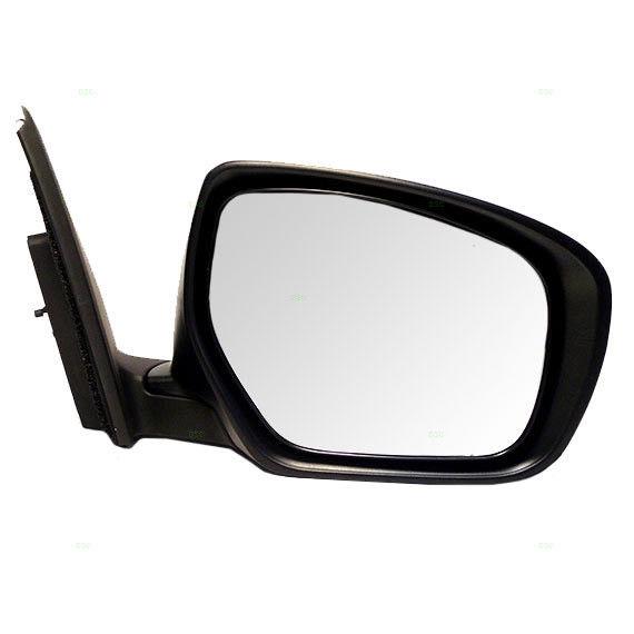 ミラー 10-15 Mazda CX-9 Passengers Side View Power Mirror w/ Flat Glass TE69-69-12ZG 10-15マツダCX-9パッセンジャーサイドミラーパワーガラス(TE69-69-12ZG)