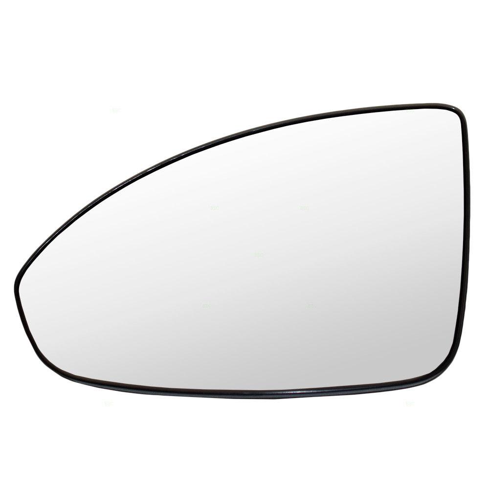 ミラー 11-15 Chevy Cruze & 16 Limited Drivers Side Power Mirror Glass w/ Base Heated 11-15 Chevy Cruze& amp; 16個の制限されたドライバサイドパワーミラーガラス(ベース加熱付き)