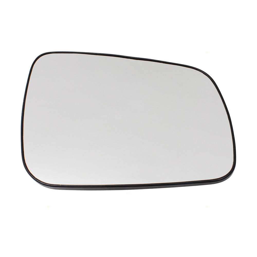 ミラー 08-14 Mitsubishi Lancer, Evolution & Sportback Passengers Mirror Glass w/ Base 08-14 Mitsubishi Lancer、Evolution& スポーツバックの乗客鏡付きガラス