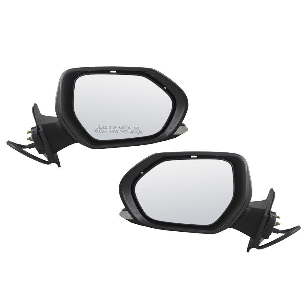ミラー Fits 16-18 Toyota Prius & 17-18 Prime Set of Side View Power Mirrors Heated フィット16-18トヨタプリウス& 17-18側面ビューパワーミラーのプライムセット