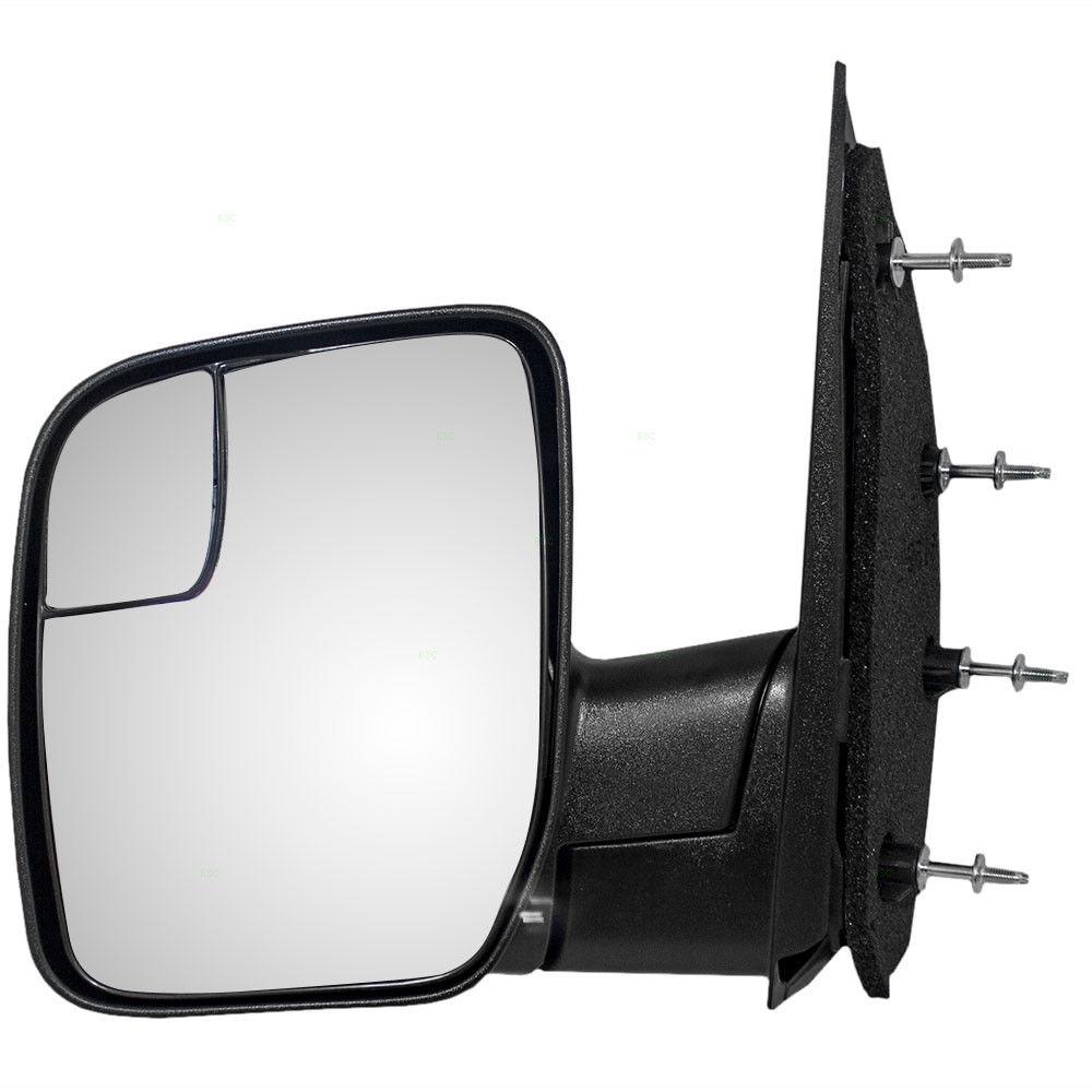 ミラー 03-14 Ford E-Series Drivers Side View Manual Sail Type Mirror w/ Spotter Glass 03-14フォードEシリーズドライバーサイドビュー手動セイルミラー付きミラー