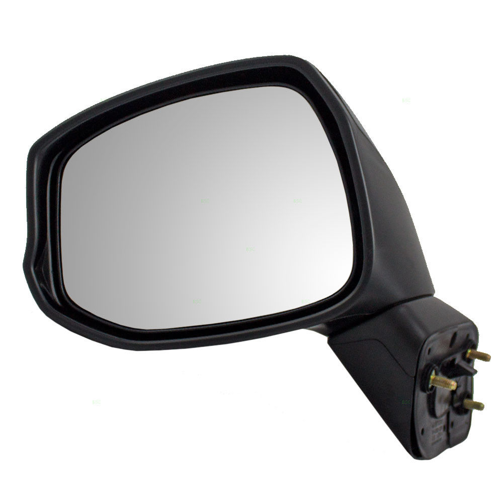 White Left Driver Side Rearview View Mirror Assembly For Honda Fit 2015 16 17 c