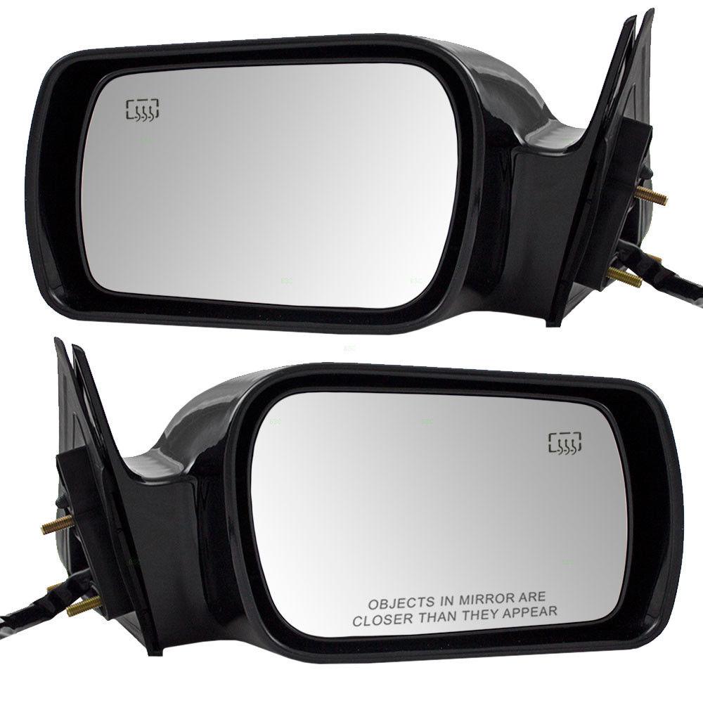 ミラー Fits Toyota Avalon 00-04 Set of Side View Power Mirrors Heated Memory 10 Pin フィットトヨタAvalon 00-04サイドビューパワーミラーのセットヒートメモリ10ピン