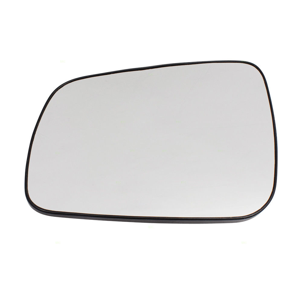 ミラー 08-14 Mitsubishi Lancer, Evolution & Sportback Drivers Side Mirror Glass w/ Base 08-14 Mitsubishi Lancer、Evolution& スポーツバックドライバーサイドミラーガラスベース