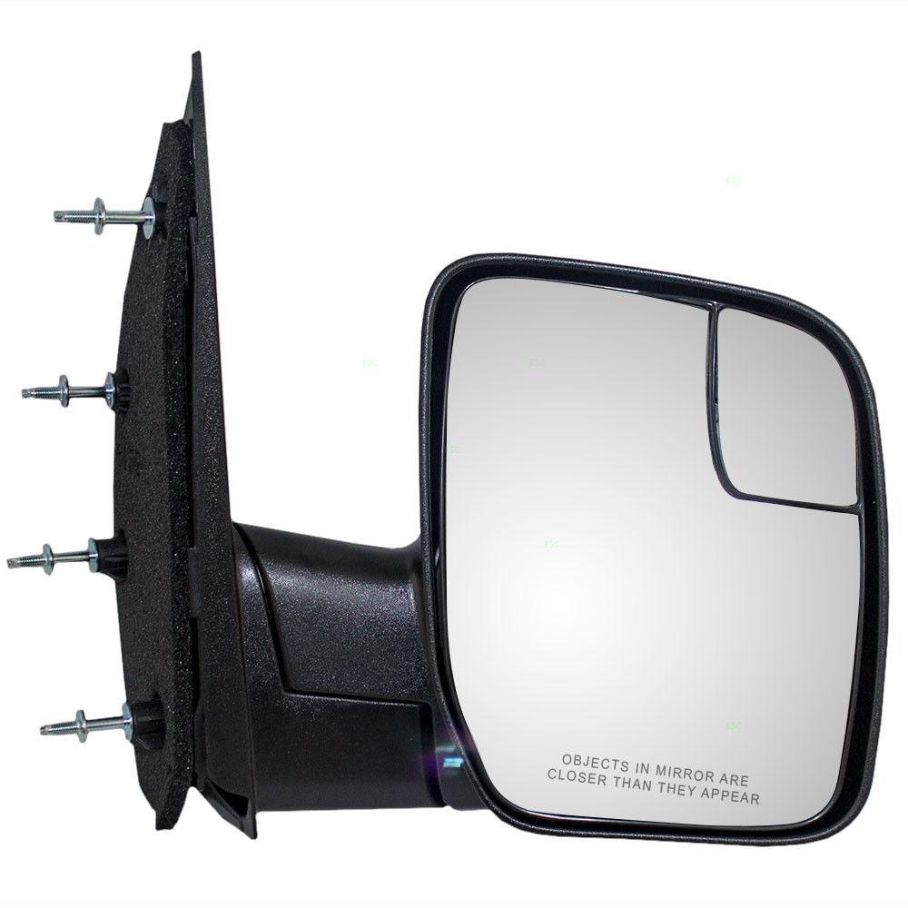 ミラー 03-14 Ford E-Series Passenger Side View Manual Sail Type Mirror w/ Spotter Glass 03-14フォードE-シリーズ助手席ビュー手動セイルミラー(w / Spotterガラス付)