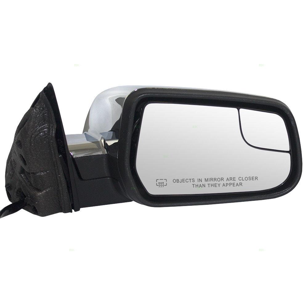 ミラー 10-14 Equinox Terrain Passenger Side Power Mirror Heated Blind Spot Glass Memory 10-14等分地形乗客側パワーミラー加熱ブラインドスポットガラスメモリ