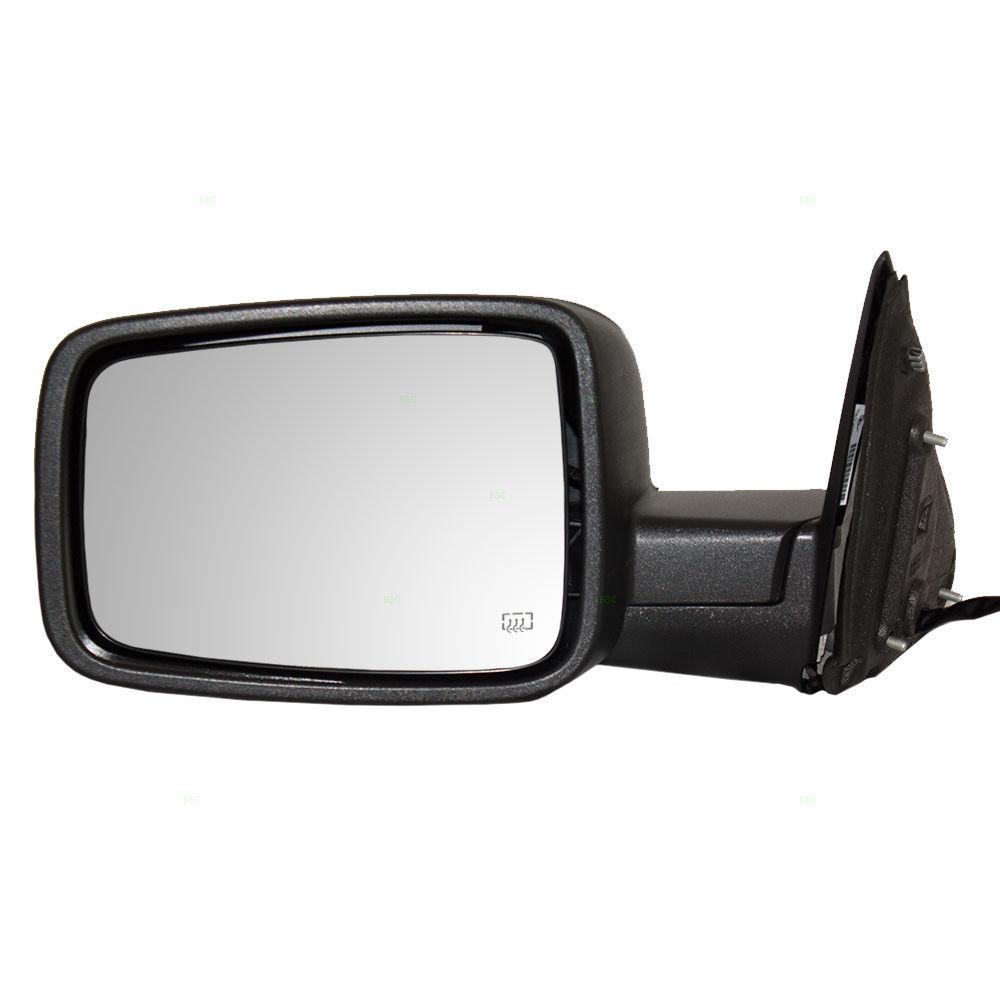 ミラー 09-12 Ram Pickup Truck Drivers Side Power Mirrors Heated Signal Puddle Lamp 09-12ラムピックアップトラックドライバサイドパワーミラー加熱信号パドルランプ
