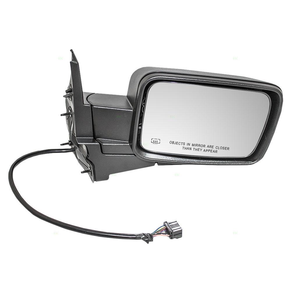 ミラー 06-10 Jeep Commander Passengers Side View Power Mirror Heated Memory Textured 06-10ジープ・コマンダー乗客のサイド・ビューパワー・ミラーヒート・メモリー・テクスチャ